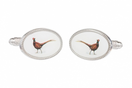 Country Pheasant Cufflinks